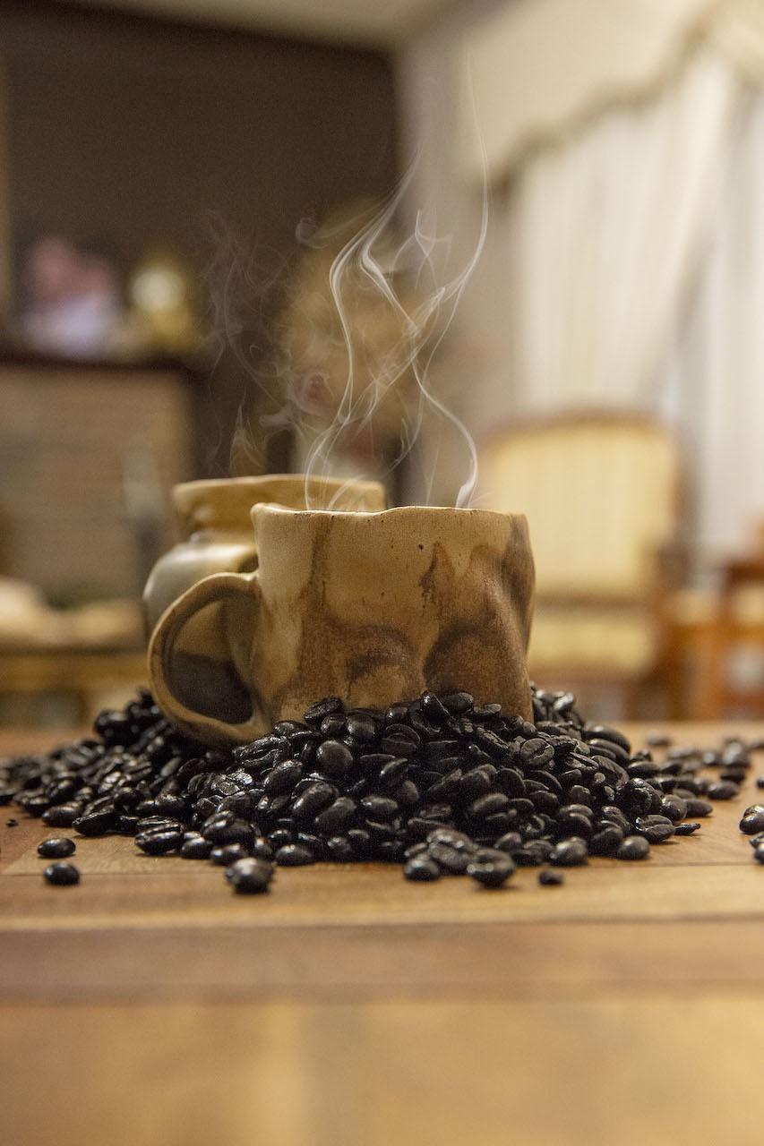 café com vapor