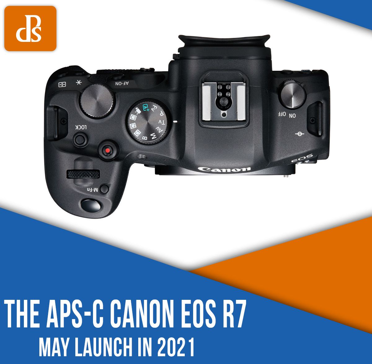 Canon APS-C EOS R camera