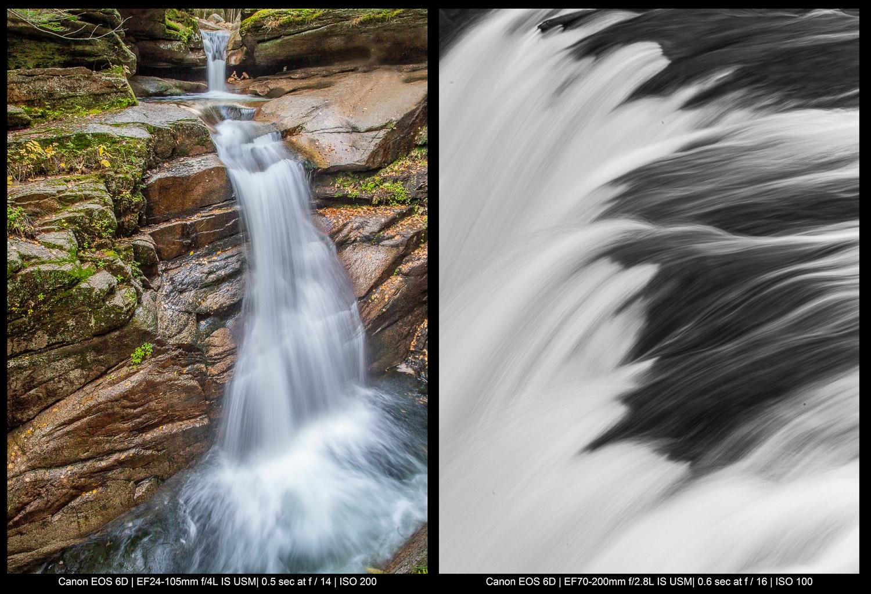 Belas artes Fotografia de paisagens - água corrente