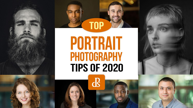 as melhores dicas de fotografia de retrato de 2020