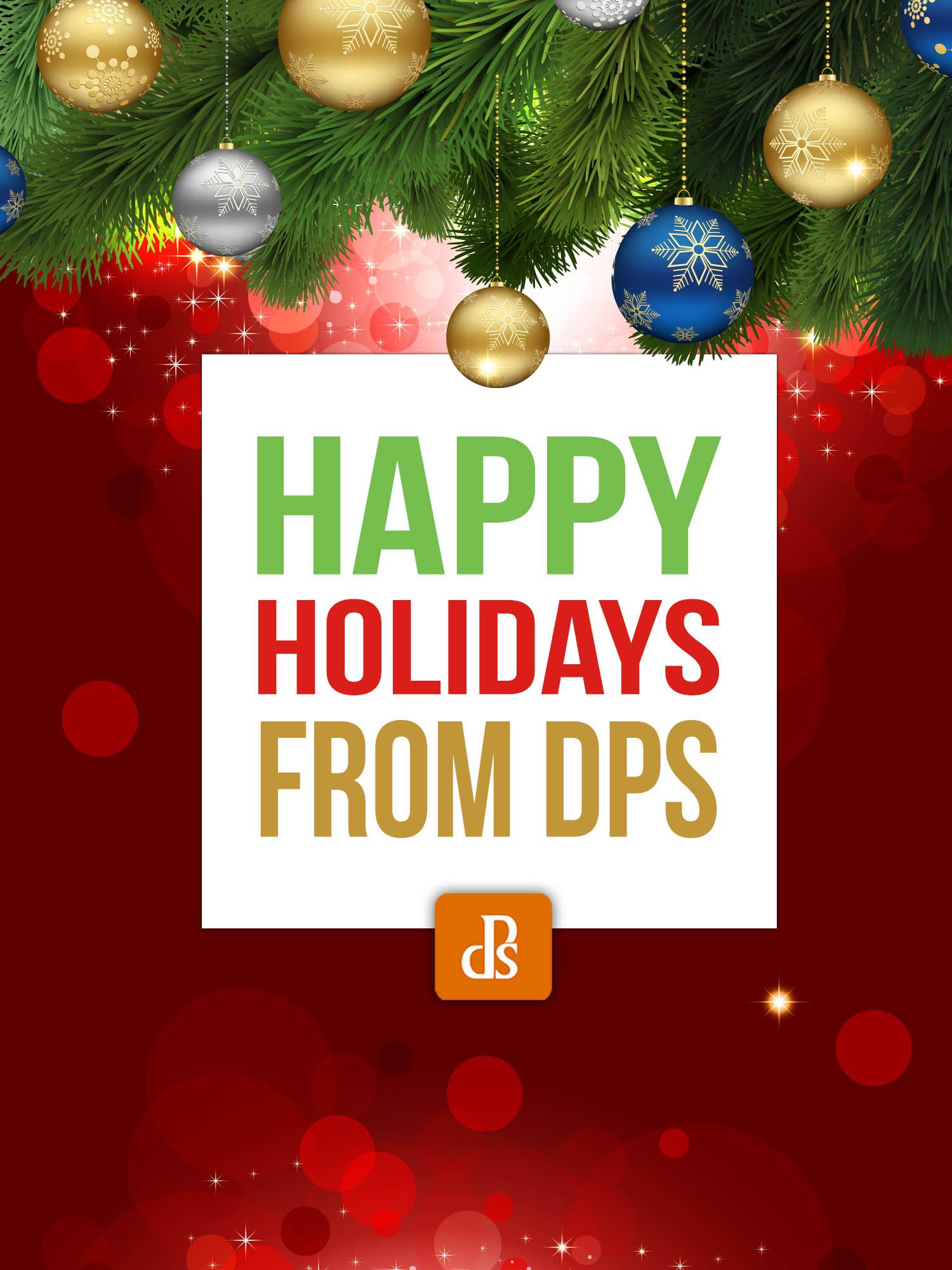 Boas festas da dPS