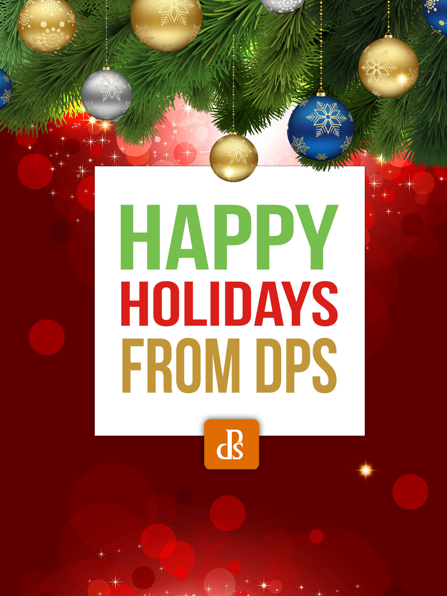 Happy Holidays from dPS
