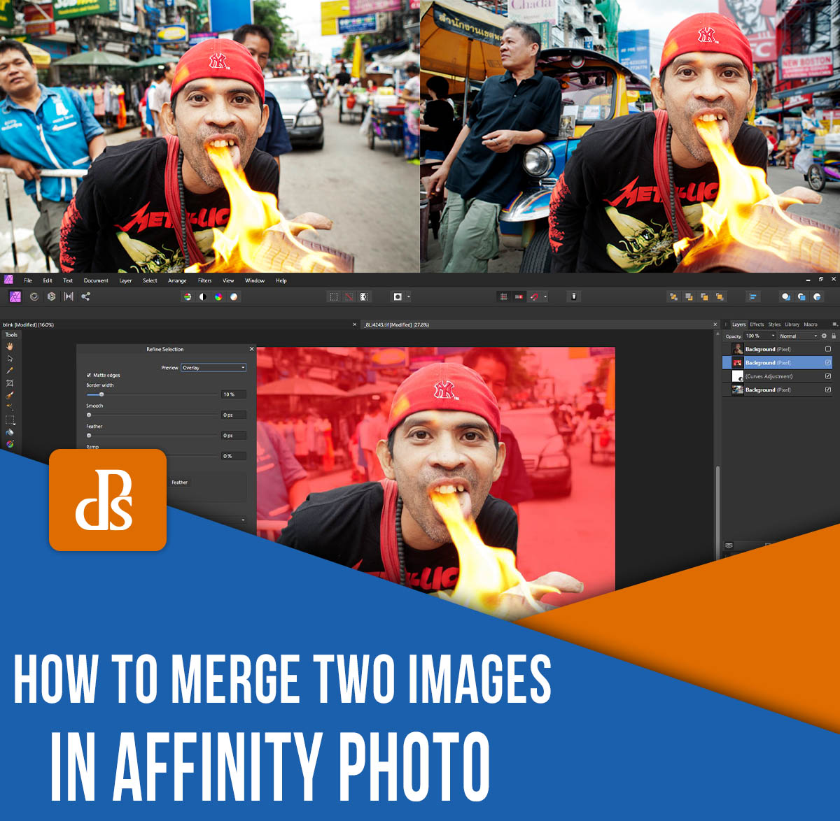 merge photos in affinity photo