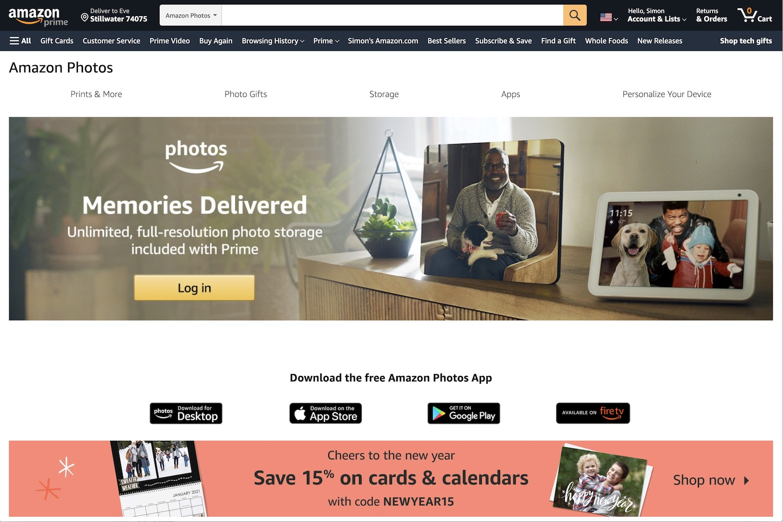 Best Online Photo Storage Amazon Prime Photos