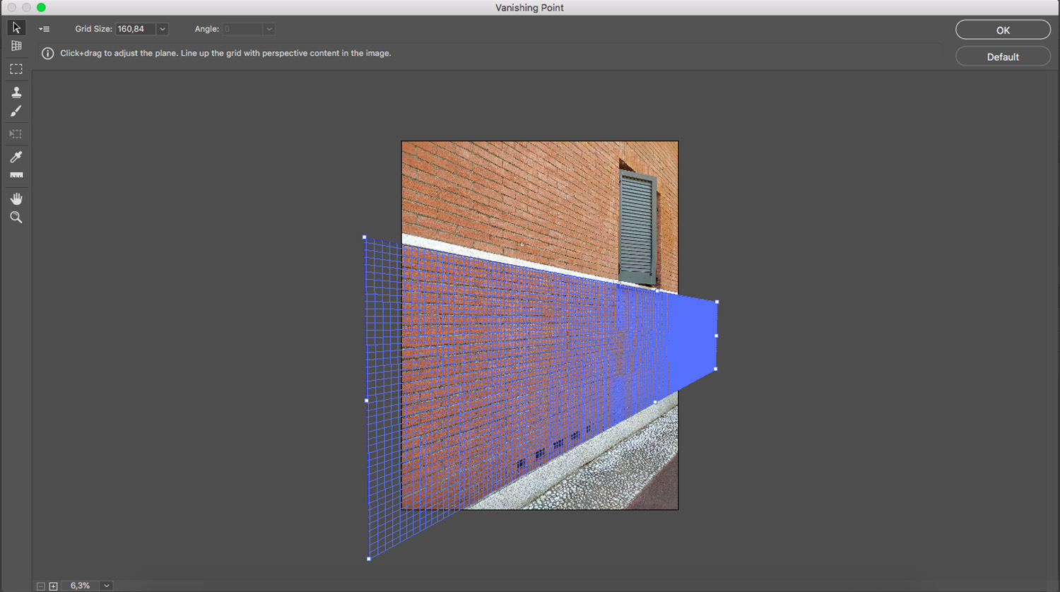 Create a Vanishing Point in Photoshop