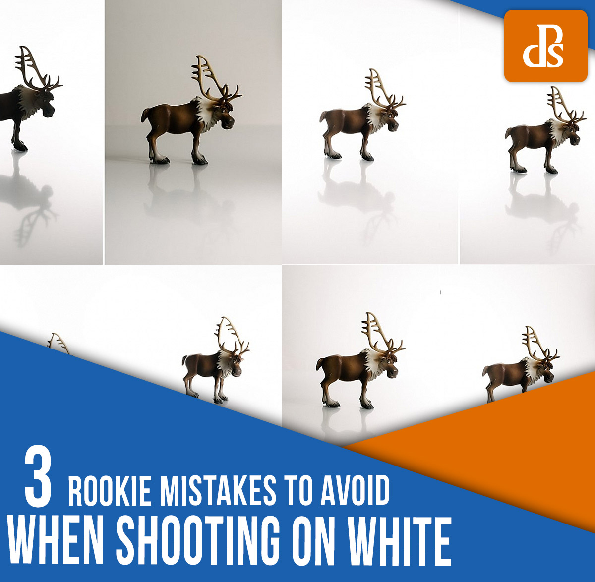 white background photography mistakes