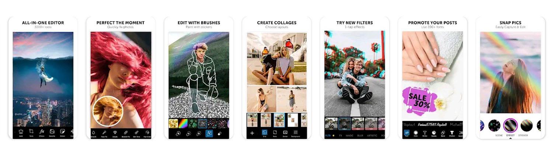 best photo filter apps picsart