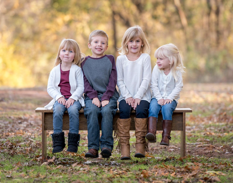 ideias para retratos de família infantis