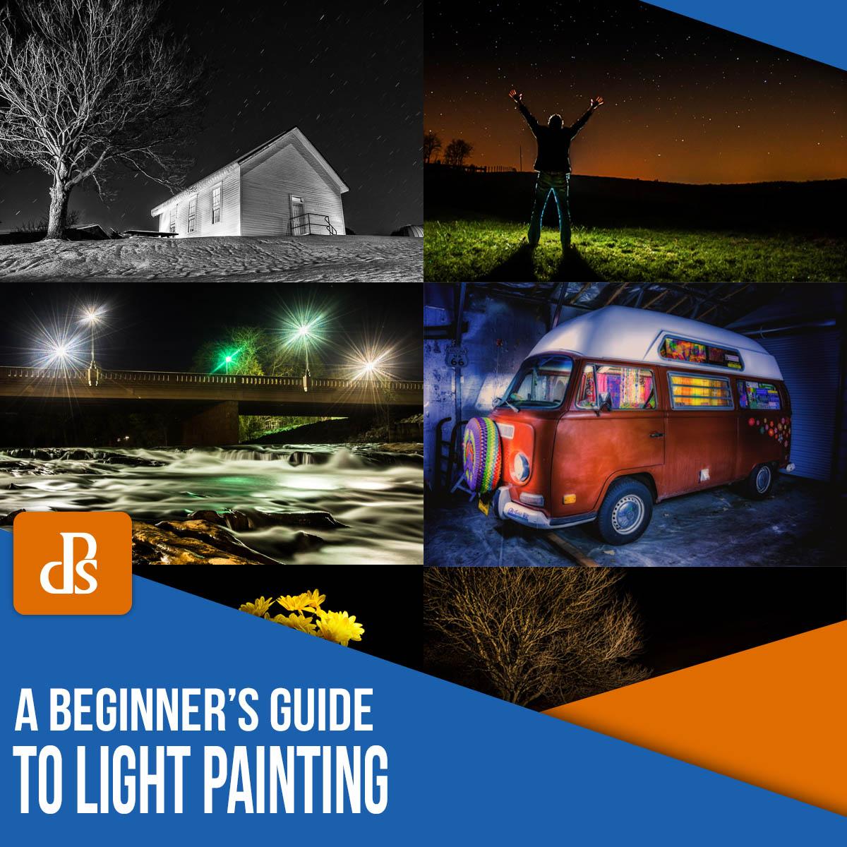 Guia para iniciantes em pintura com luz em fotografia