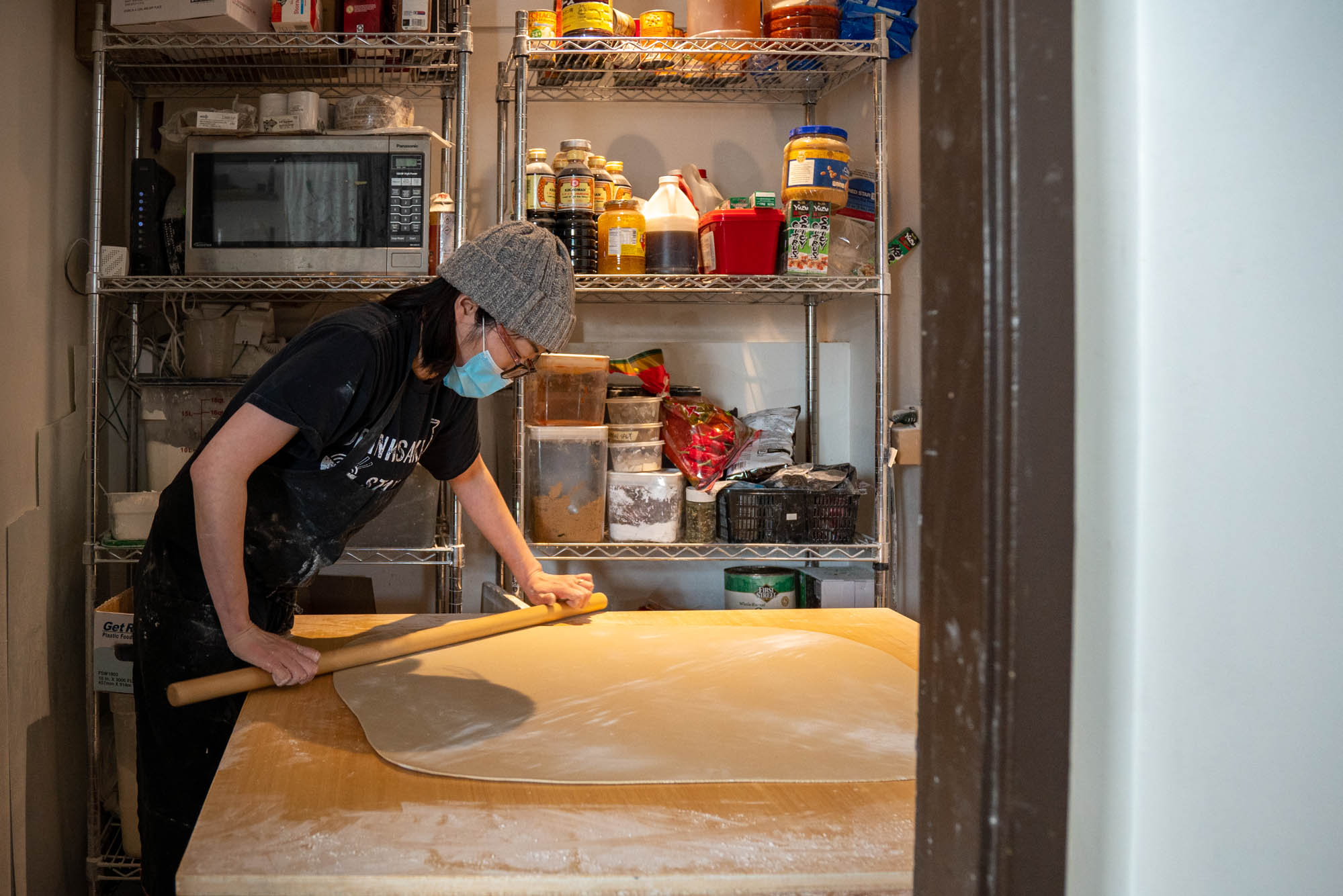 Tamron 17-70mm f/2.8 for Sony sample photo of woman with dough