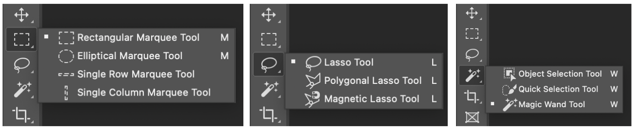 Selection Tool comparison