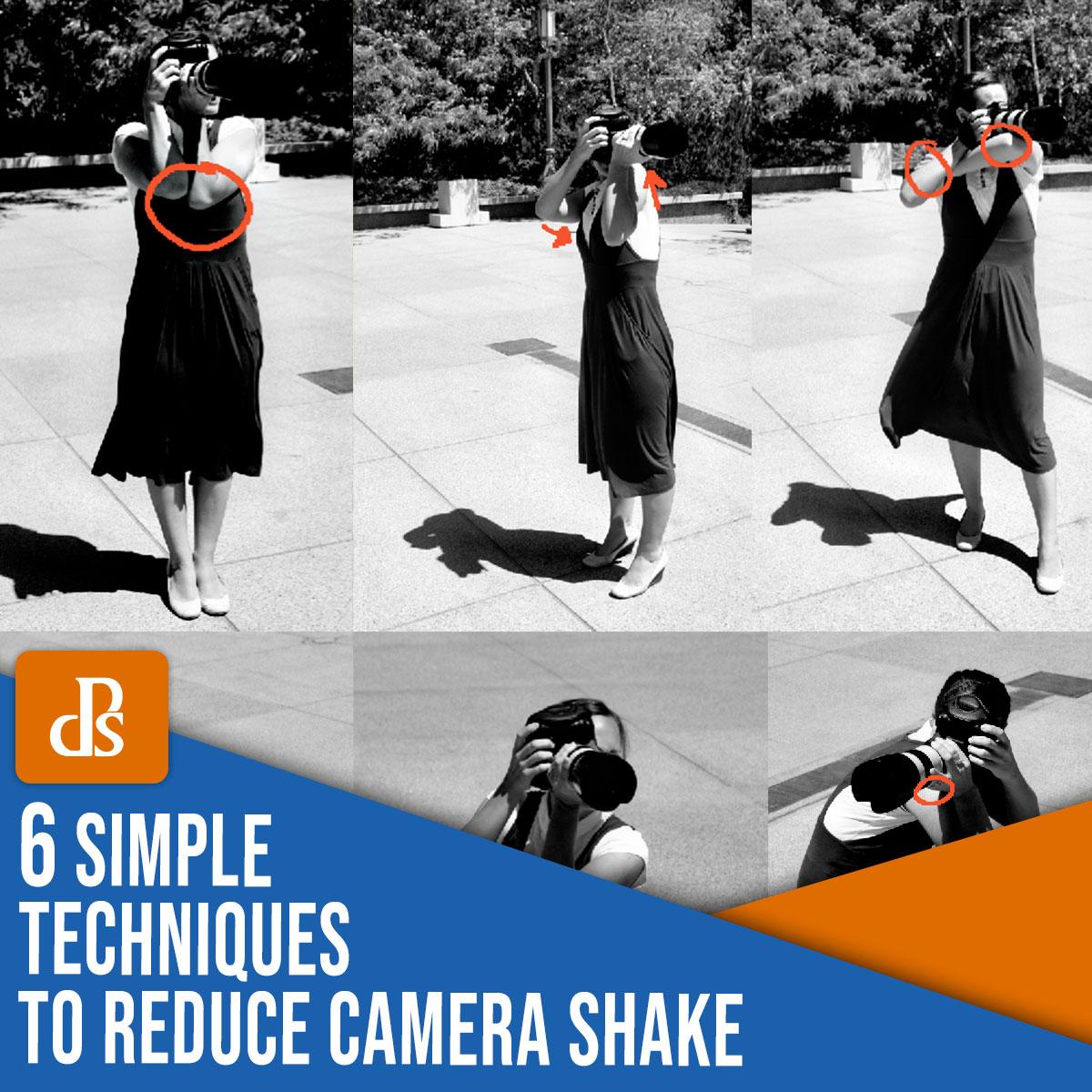 6 técnicas simples para reduzir a trepidação da câmera