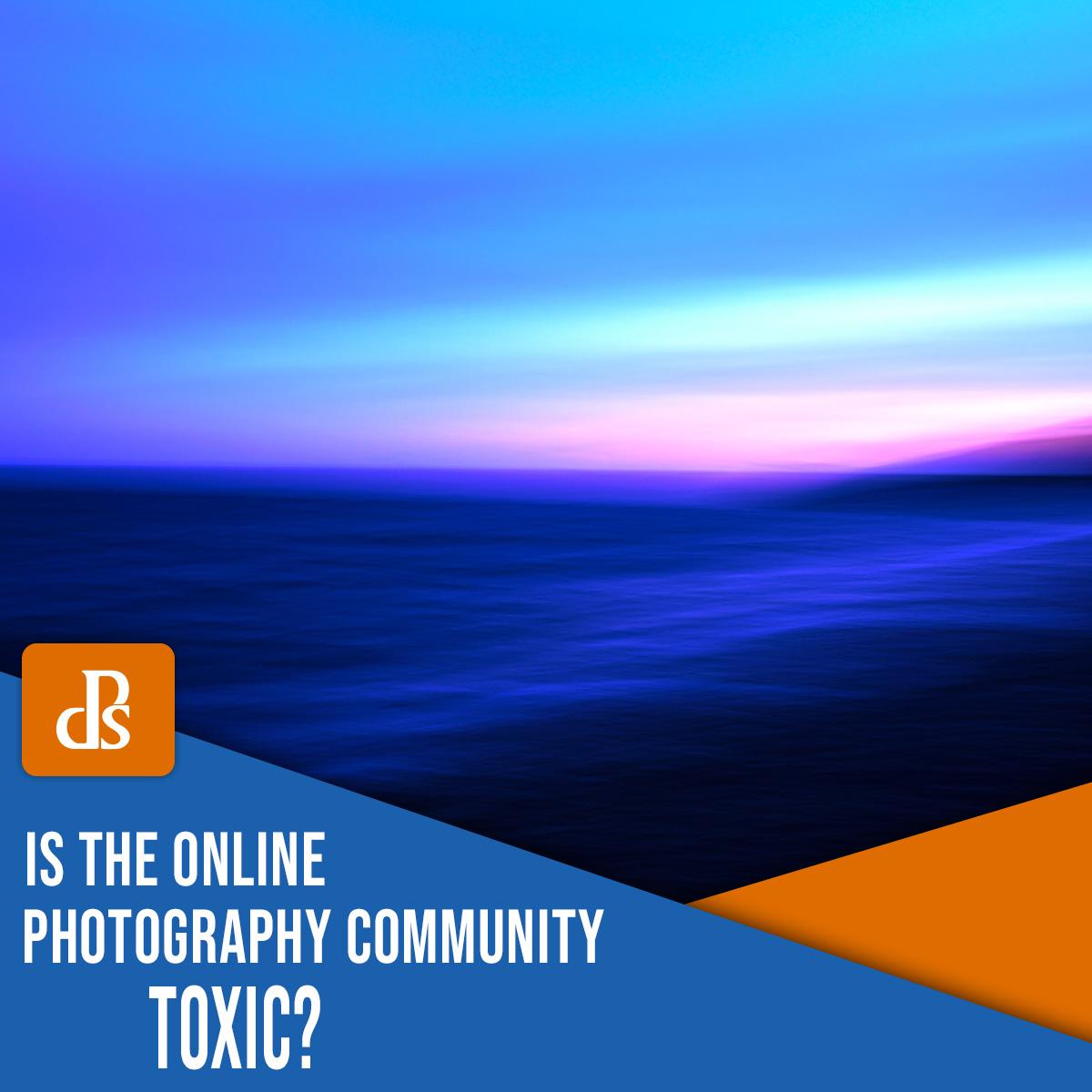 A comunidade de fotografia online é tóxica?