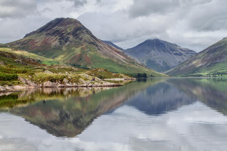 mountain landscape photography lake reflection