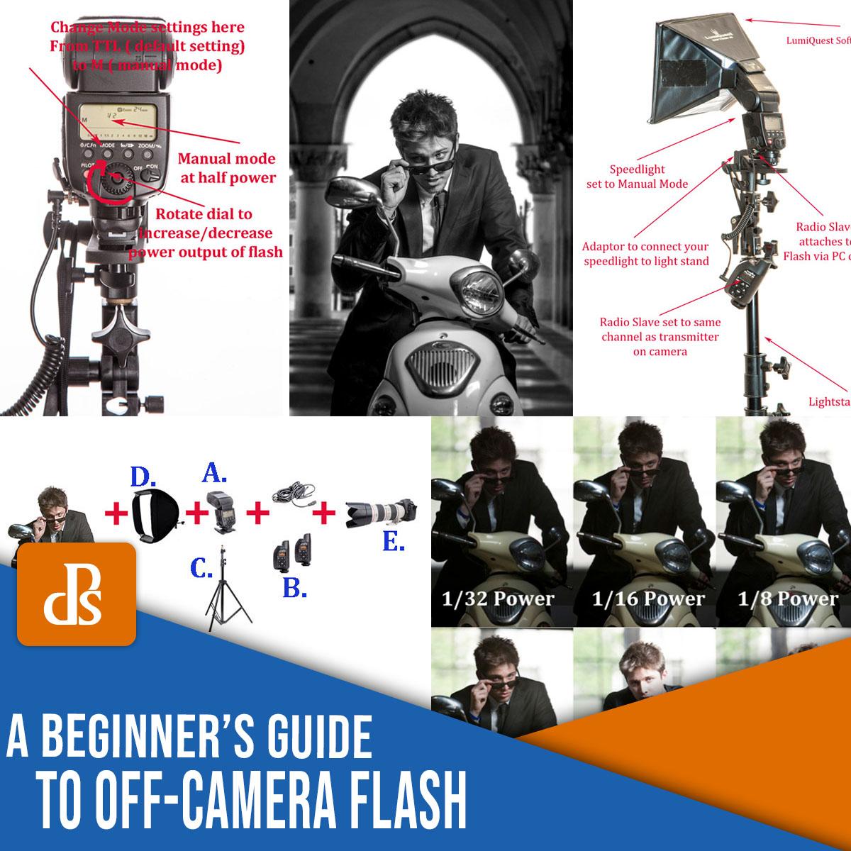 um guia para iniciantes sobre flash fora da câmera