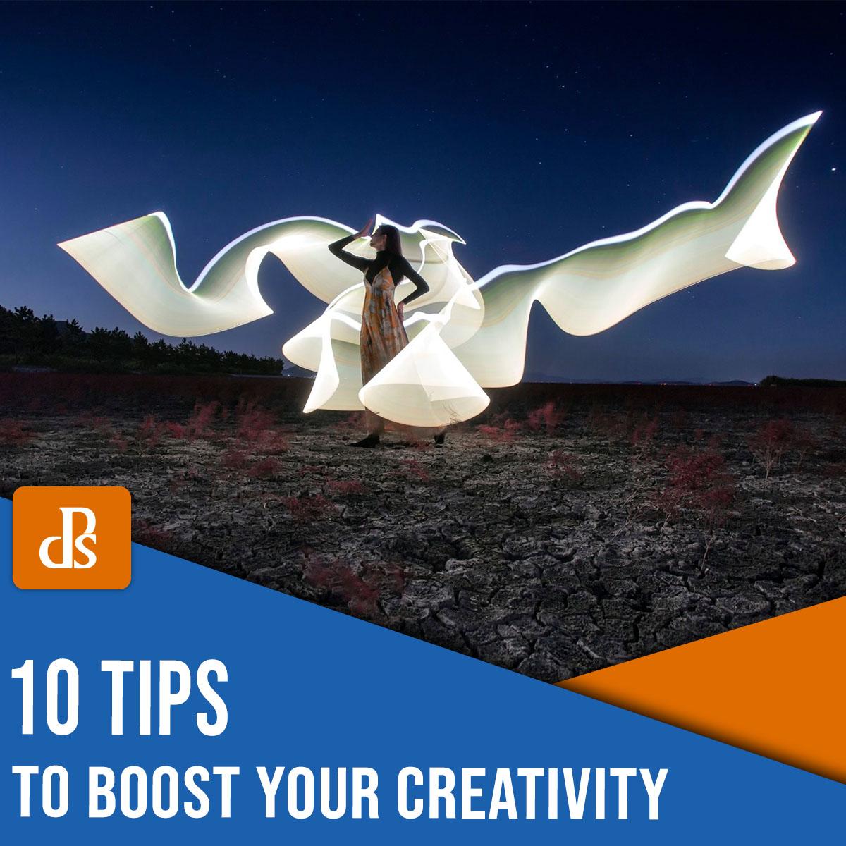 dicas para impulsionar sua criatividade