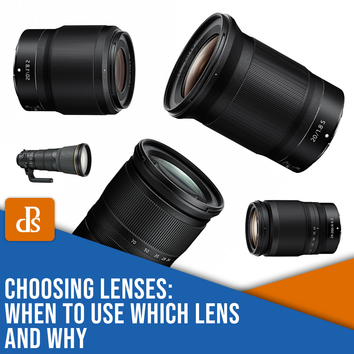 what lens to use and why?