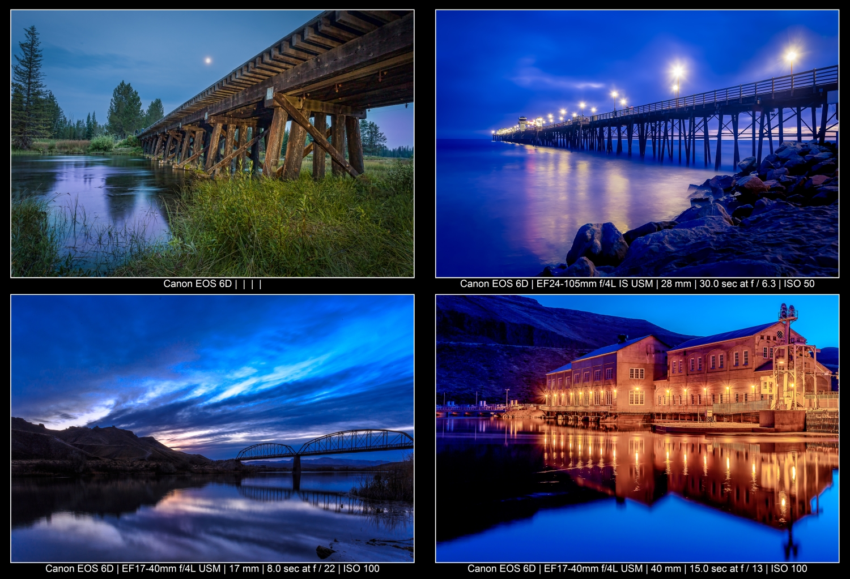 blue hour scenes