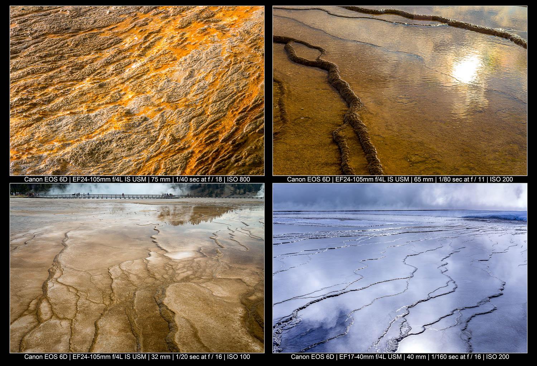 dicas de fotografia de paisagem abstrata