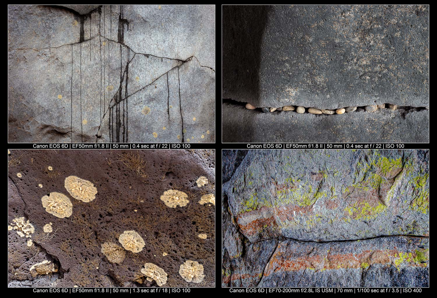 abstract rock compositions