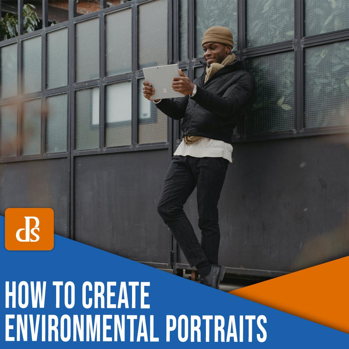 como criar retratos ambientais