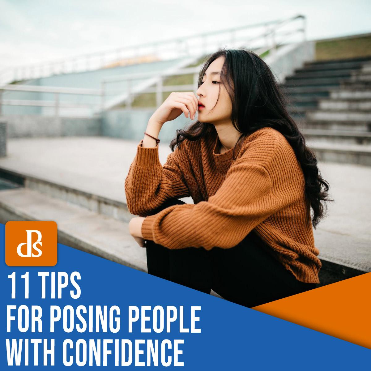 11 dicas para posar pessoas com confiança