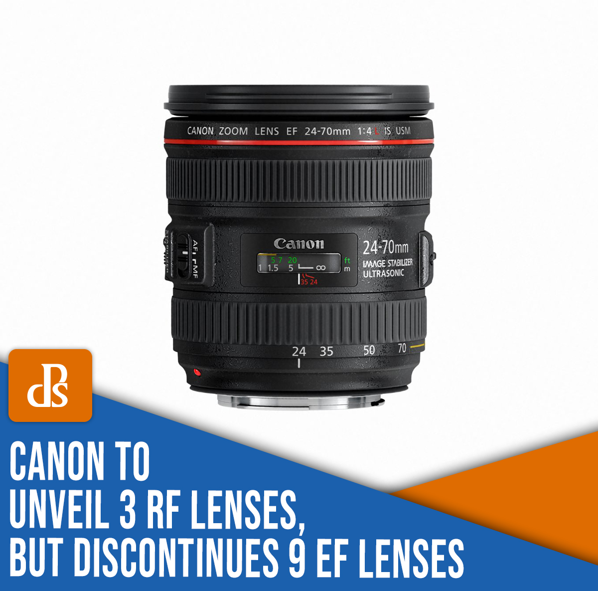 Canon to unveil 3 RF lenses, but discontinues 9 EF lenses