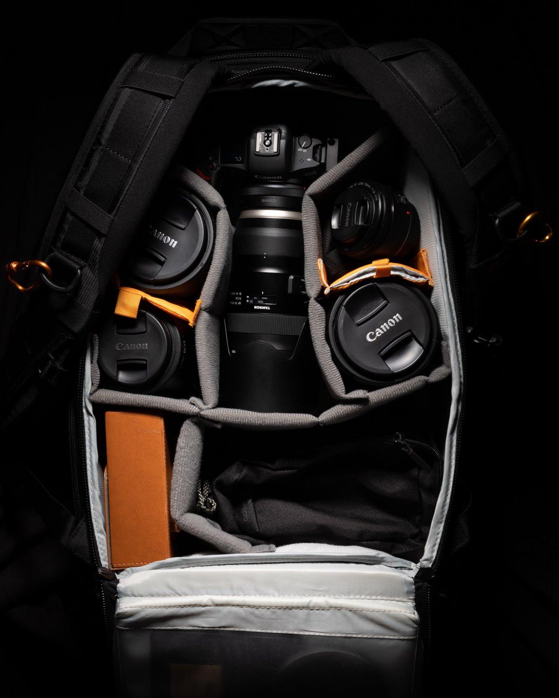 choosing a camera bag