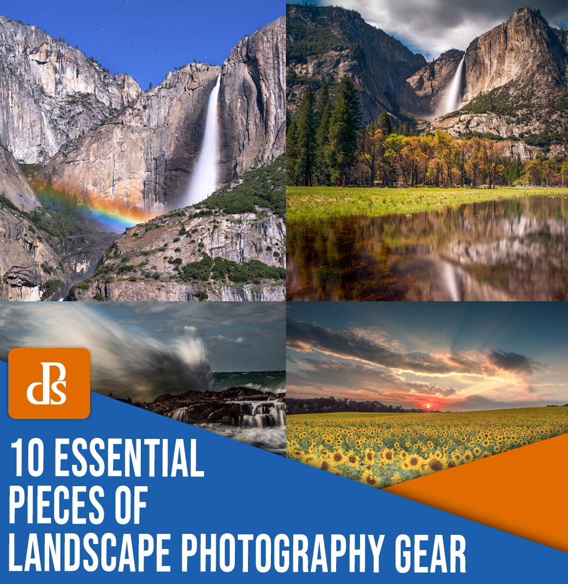 10 essential pieces of landscape photography gear