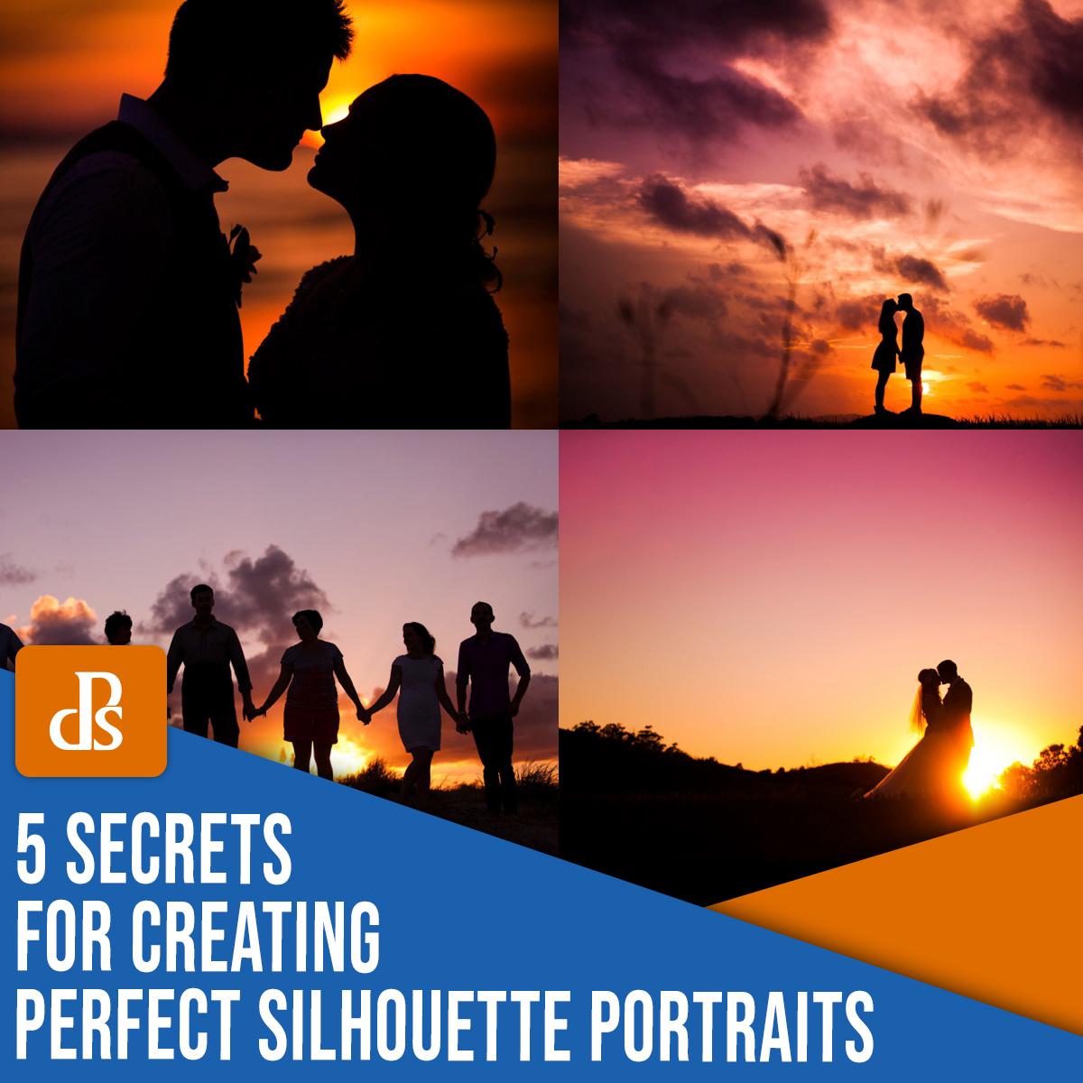 5 segredos para criar uma fotografia de retrato de silhueta perfeita