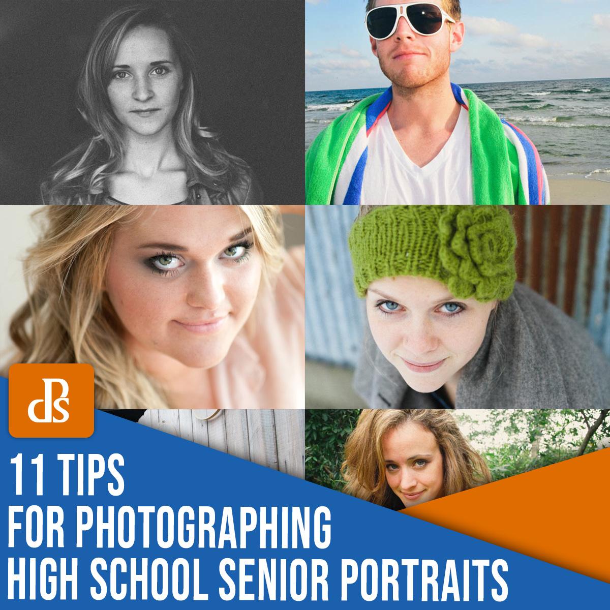 11 dicas para tirar retratos de alunos do último ano do ensino médio
