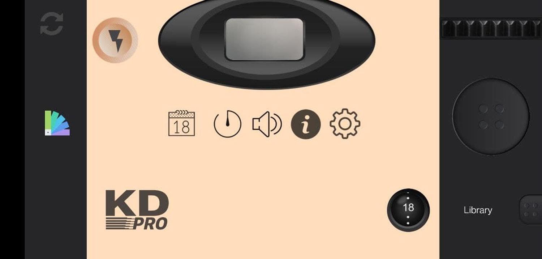 KD PRO Disposable Camera app
