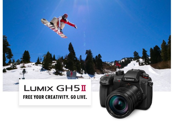 Panasonic Unveils the GH5 II, With Wireless Live Streaming and Improved IBIS