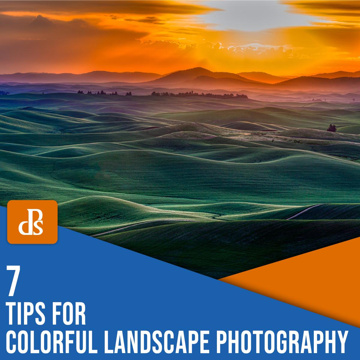 7 dicas para fotografia de paisagem colorida