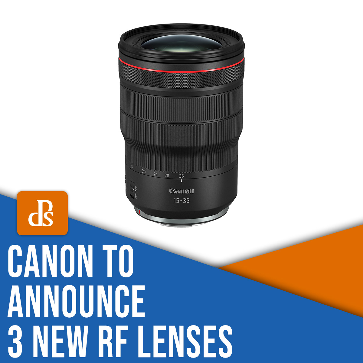 Canon to announce 3 new RF lenses