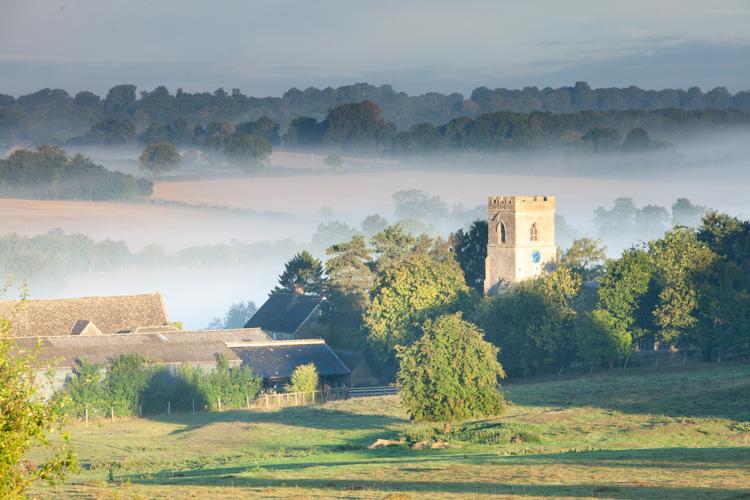 misty monastery