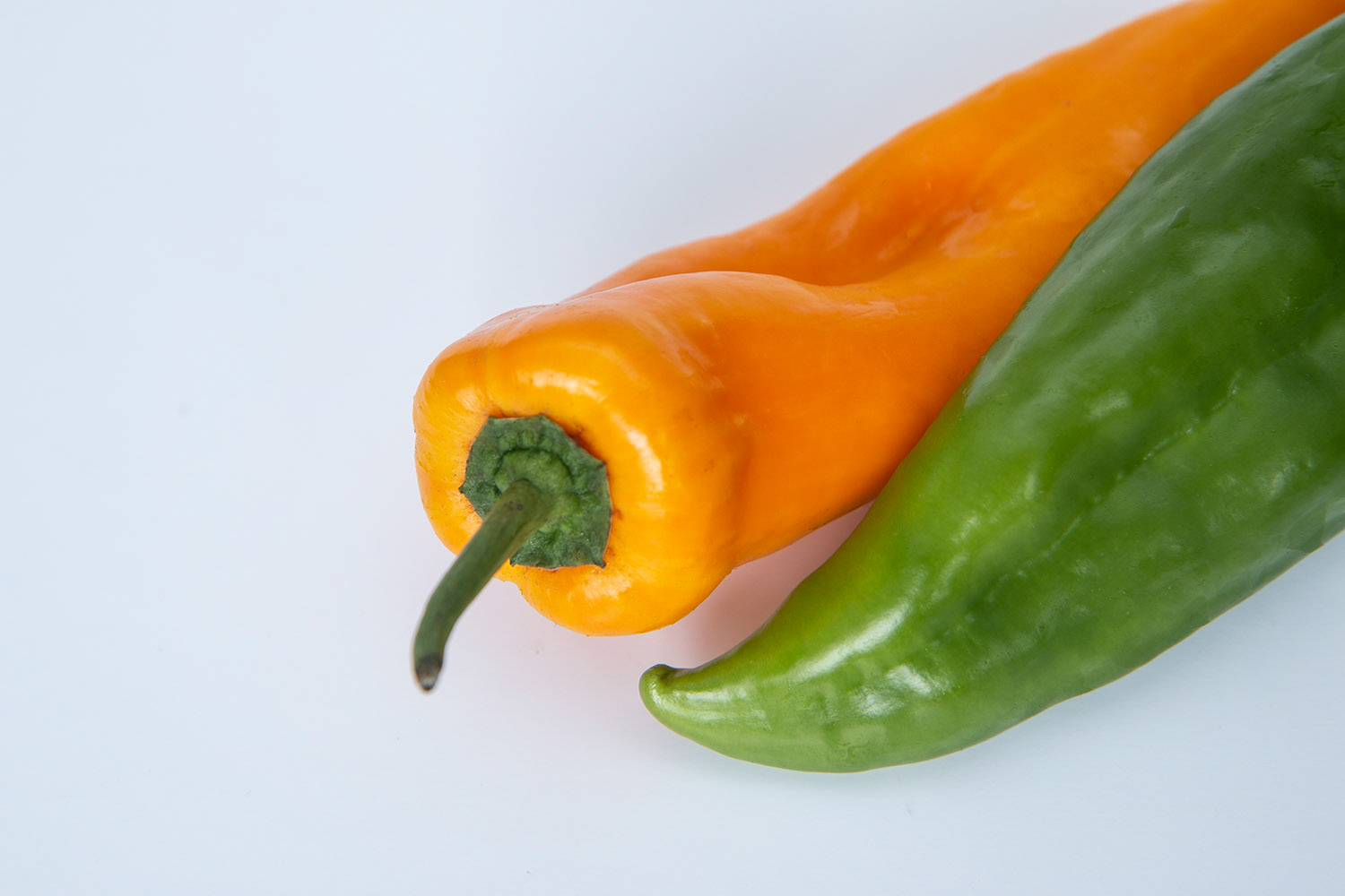 complementary pepper colors