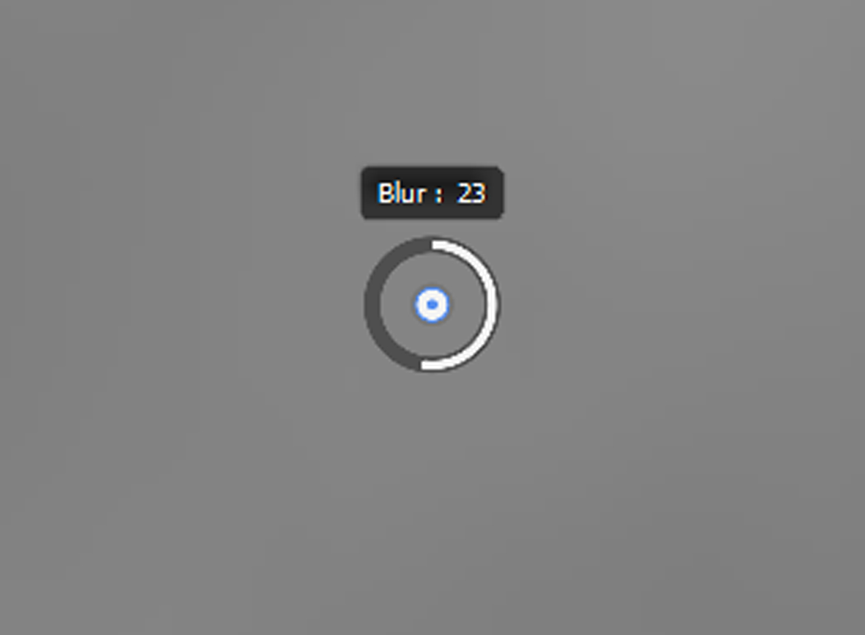 Field Blur pin Photoshop
