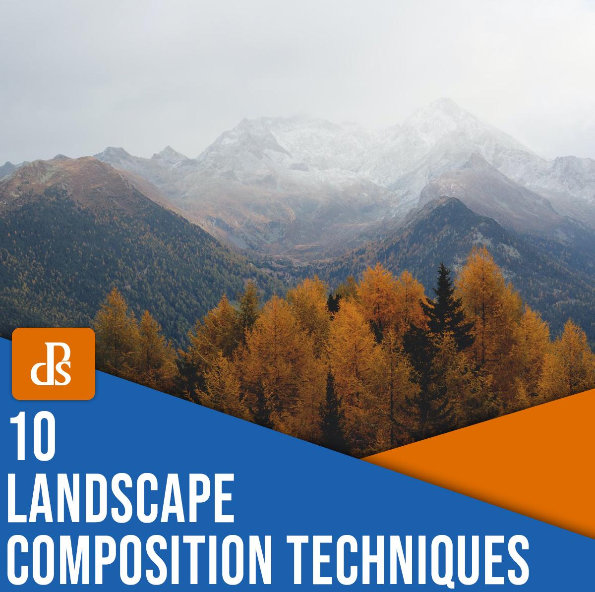 10 técnicas de composição de fotografia de paisagem