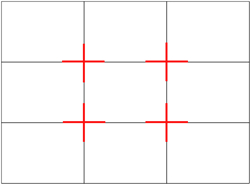 landscape photography rule of thirds composition gridlines