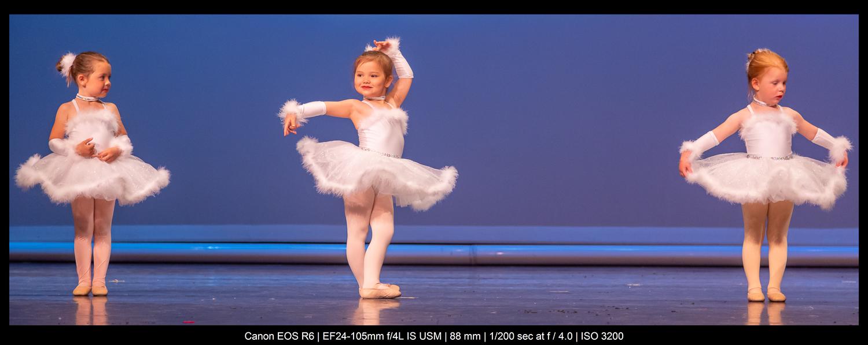 girls doing ballet