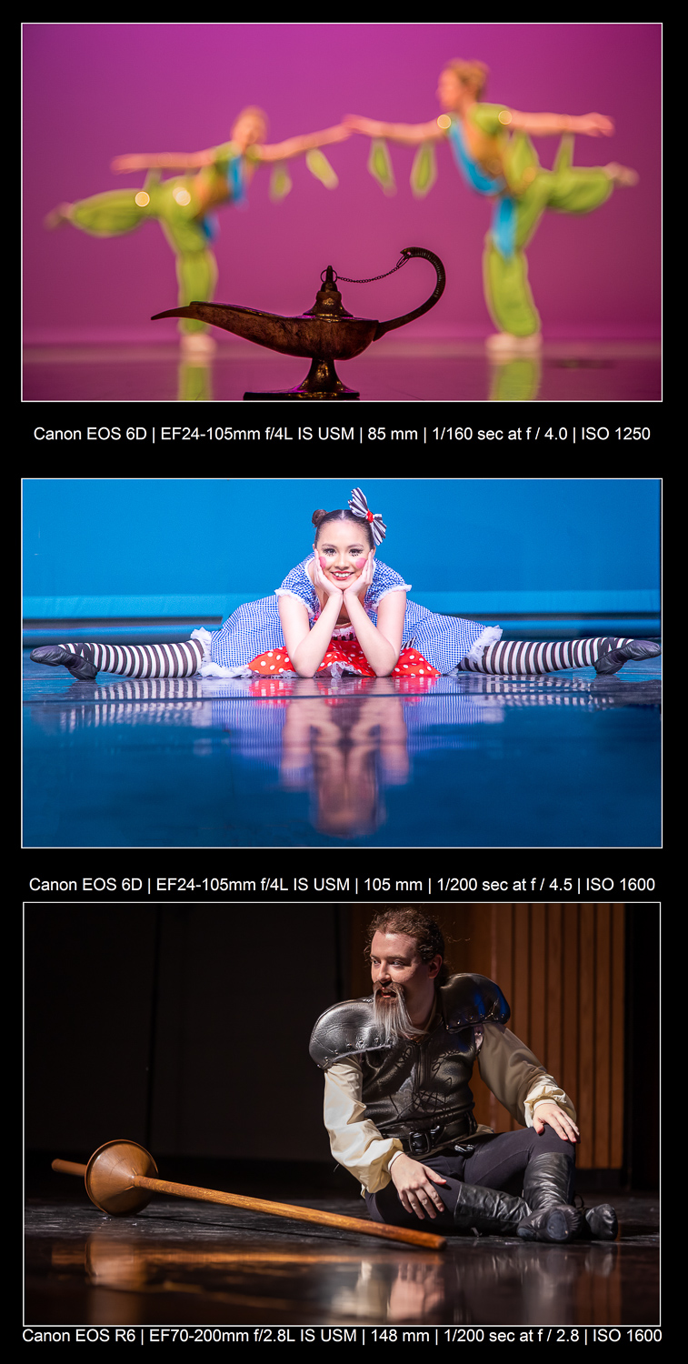 creative stage photography examples