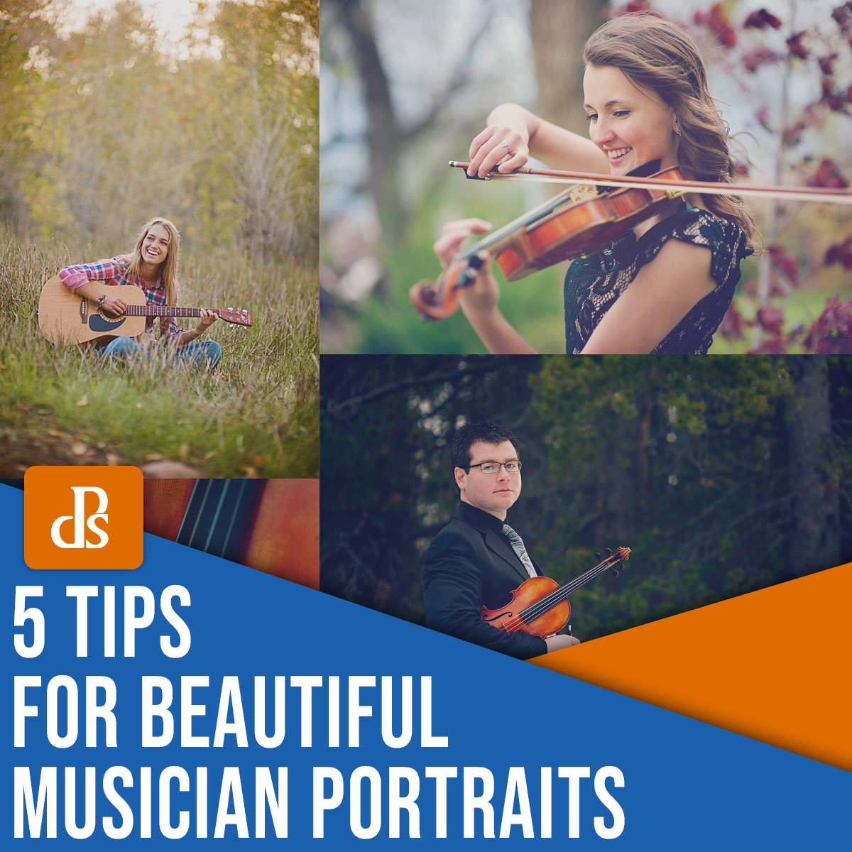 5 tips for beautiful musician portraits