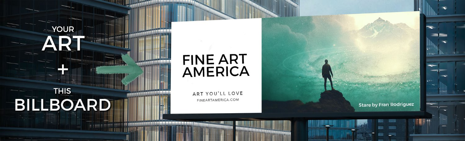 your art goes on this billboard
