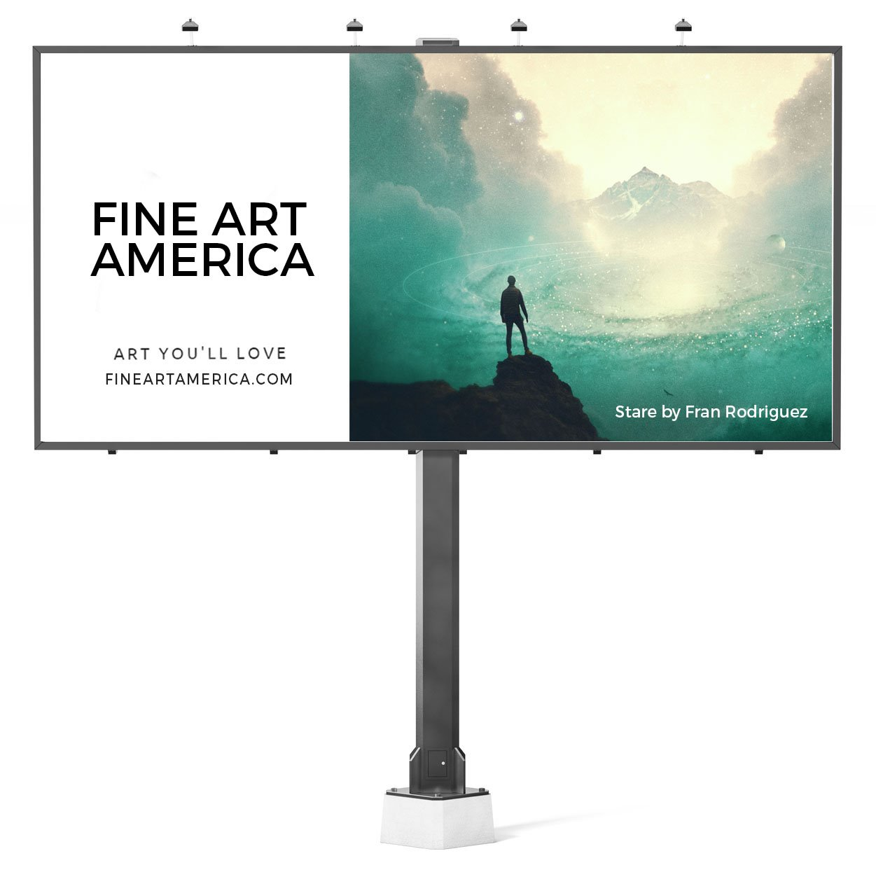 example billboard for photo contest
