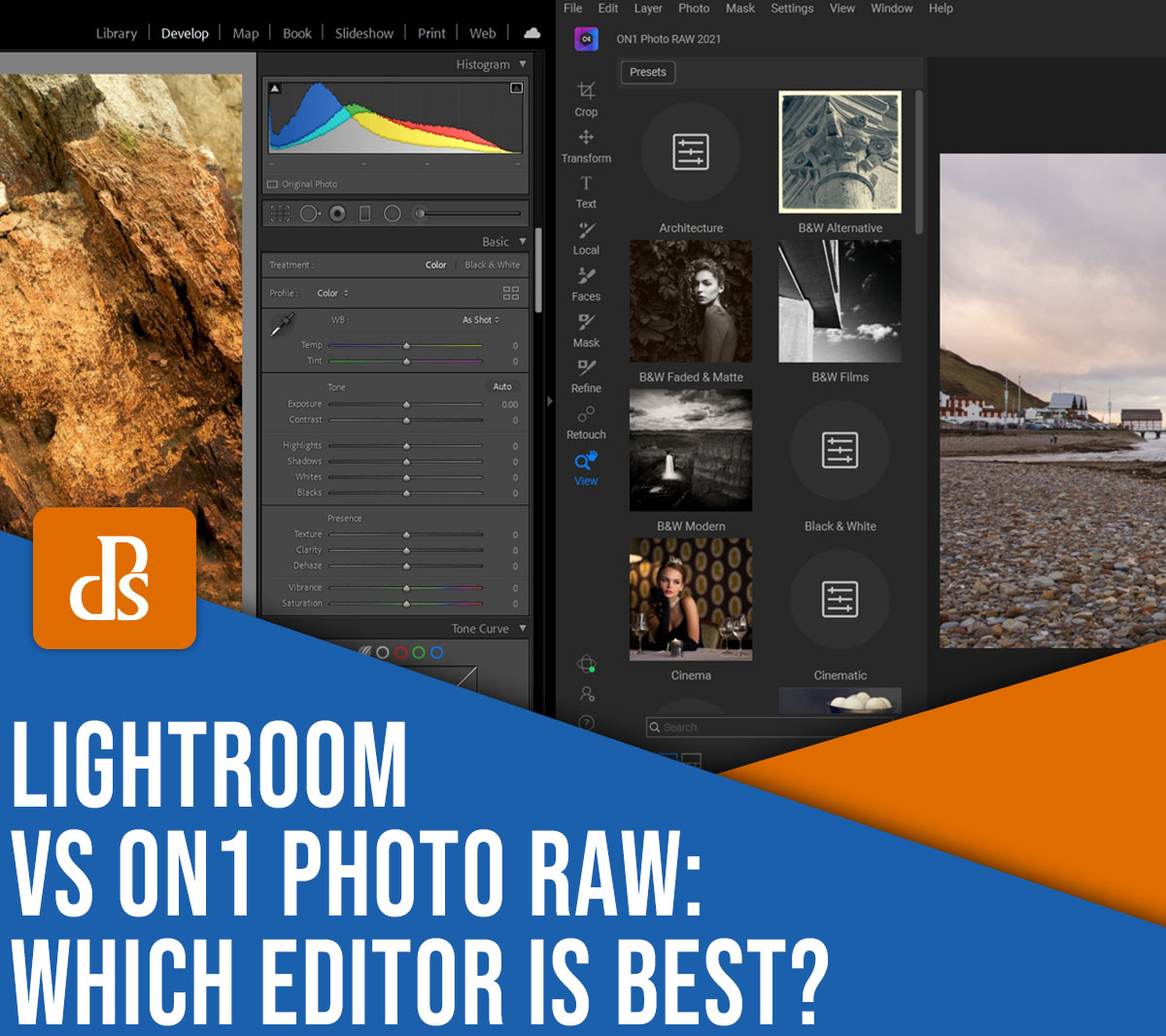 Lightroom vs ON1 Photo RAW: which editor is best?