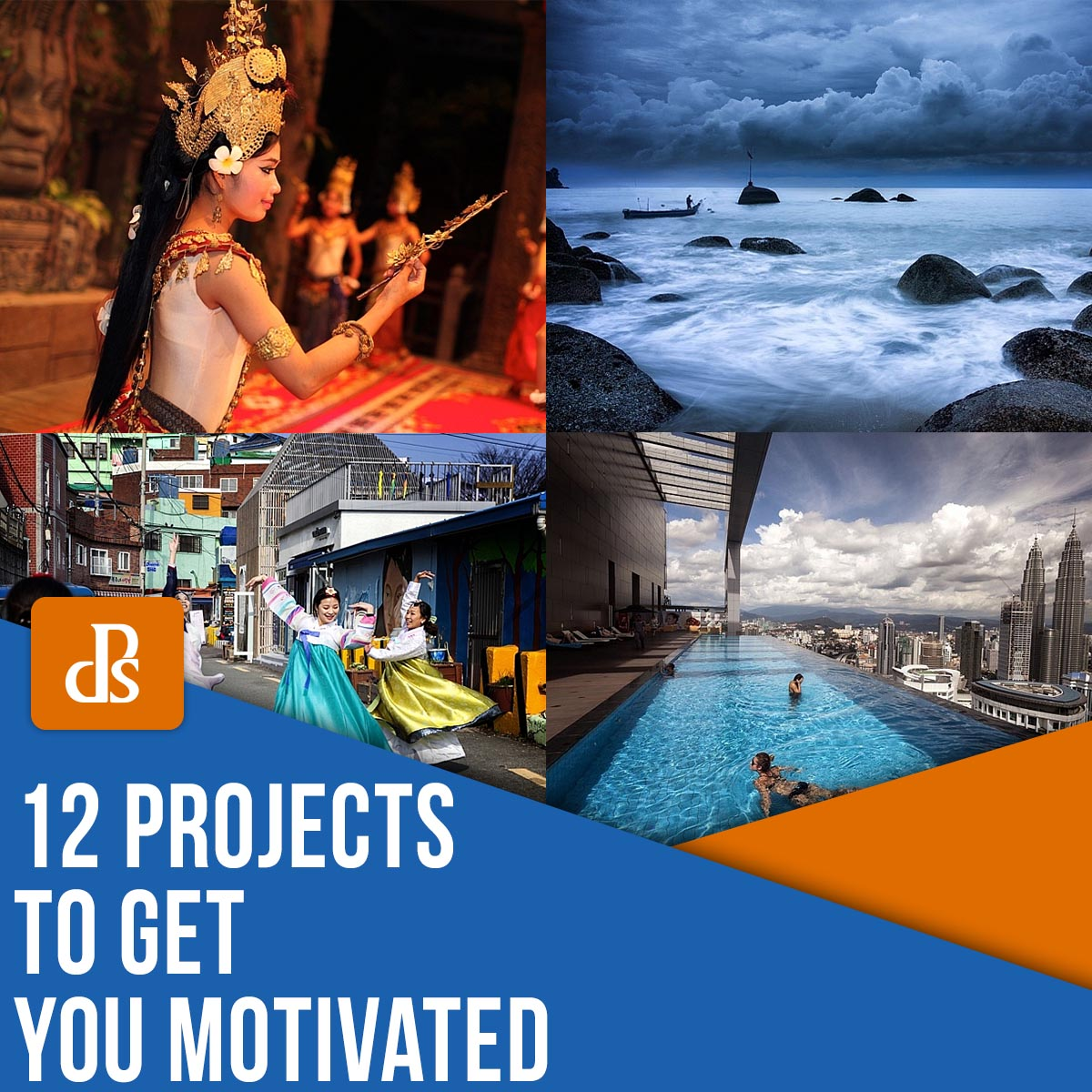 12 creative project ideas to get you motivated