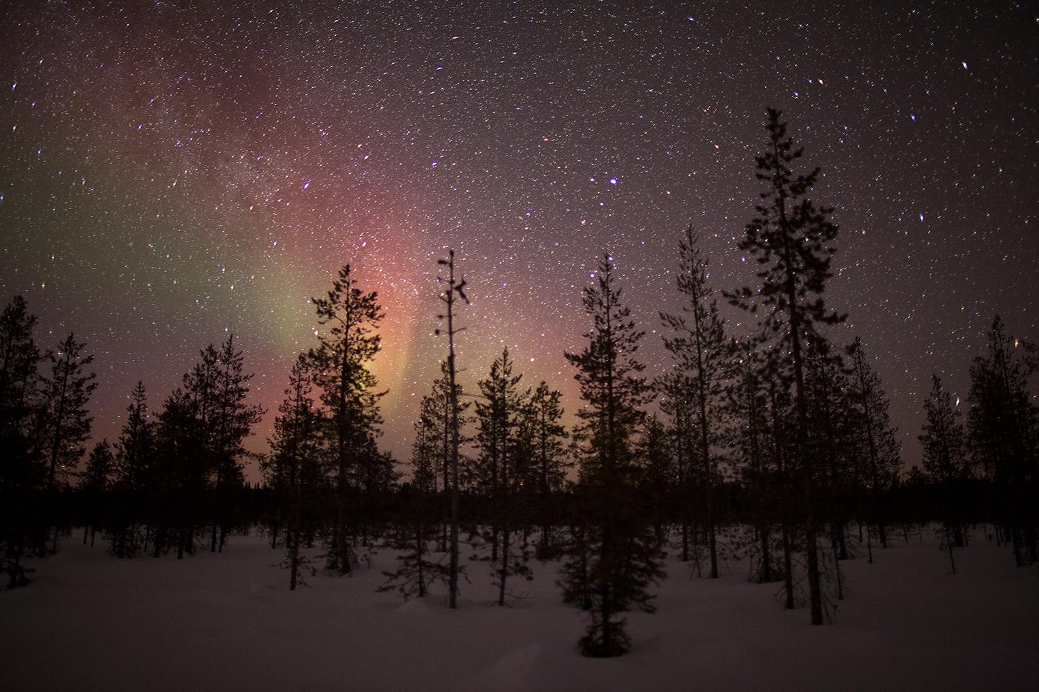 aurora borealis using the 500 rule