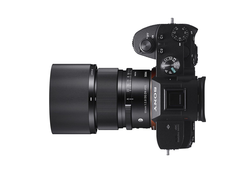 Sigma 90mm f/2.8 lens