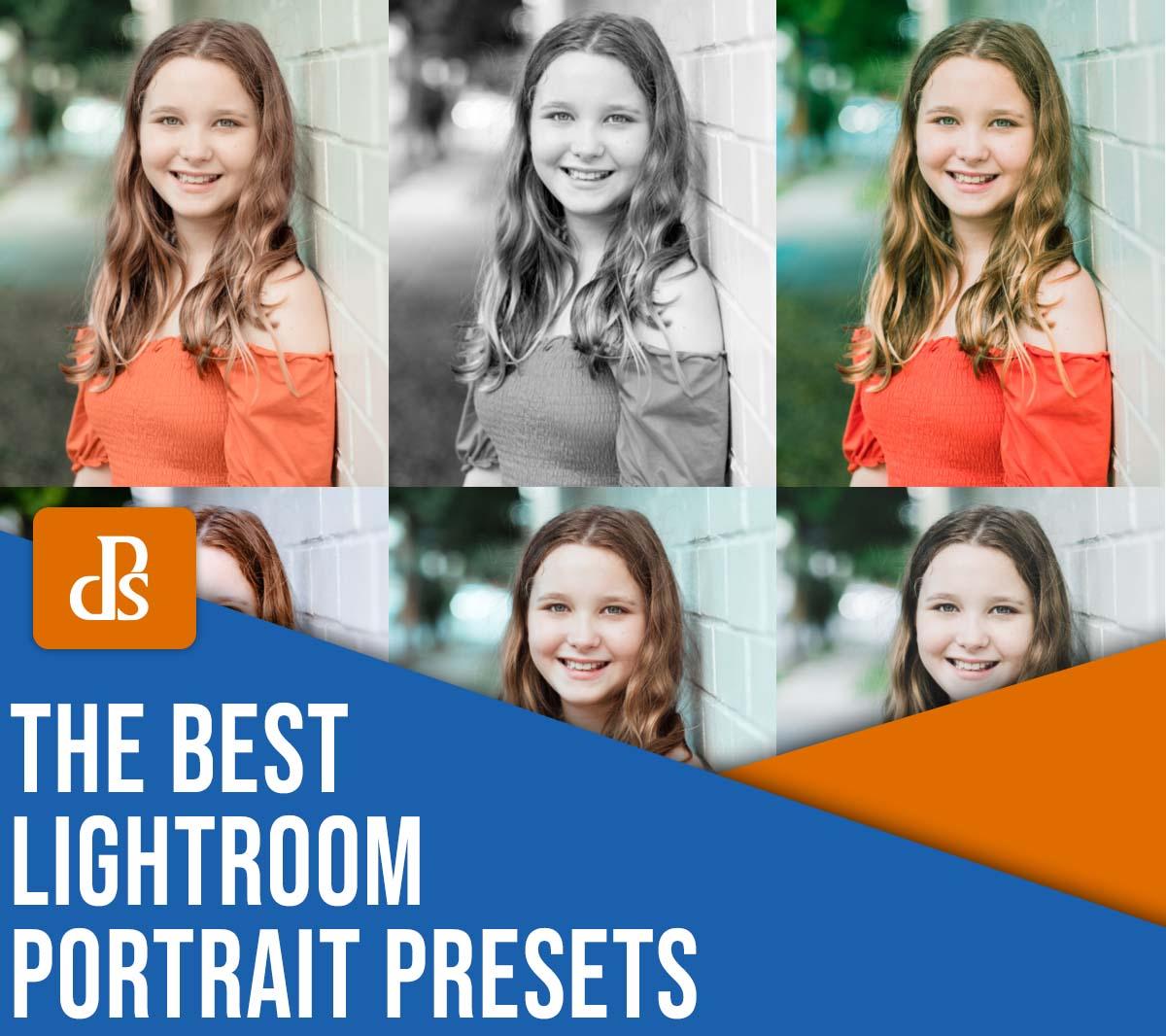 the best Lightroom portrait presets